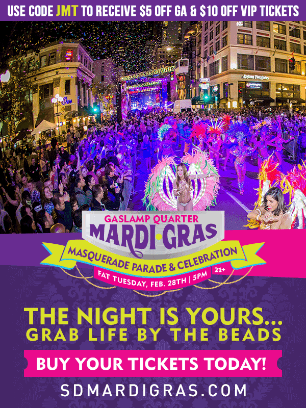 Join the Masquerade Parade & Celebration, FAT Tuesday, February 28th, 2017