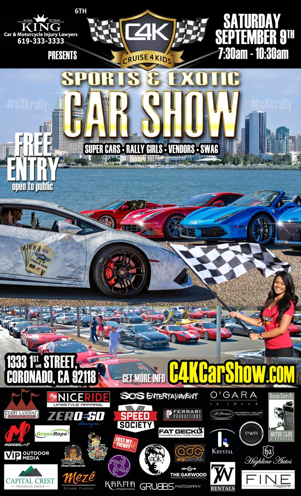 San Diego Archives Page Of JustMyTicketcom Connects You - San diego car show schedule